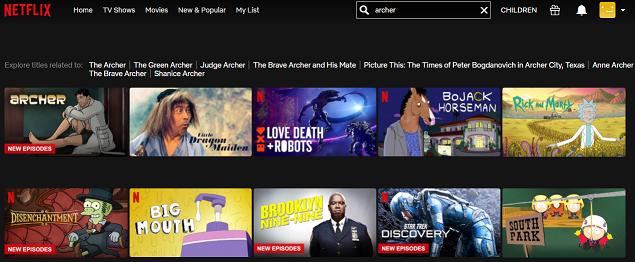 Watch Archer on Netflix 2