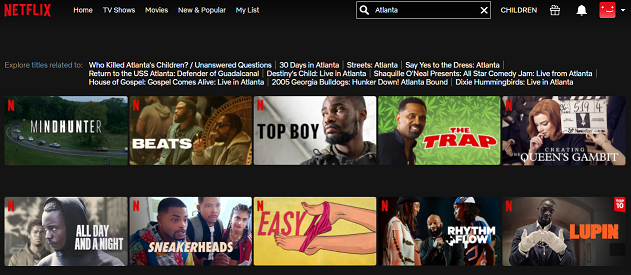 Watch Atlanta Series on Netflix 1