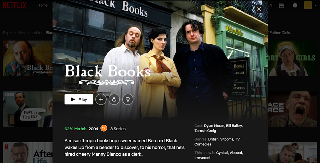 Watch Black Books on Netflix 3