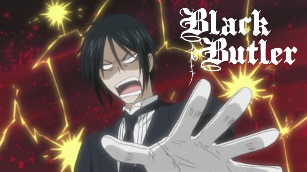Watch Black Butler all 4 Seasons on NetFlix