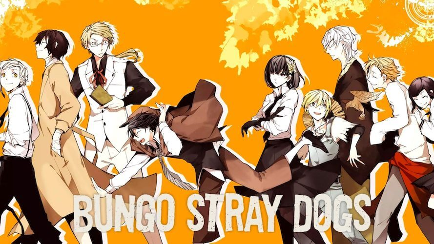 Watch Bungo Stray Dogs all 3 Seasons on NetFlix