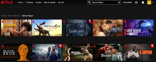 Watch Demon Slayer - Kimetsu no Yaiba on Netflix 1
