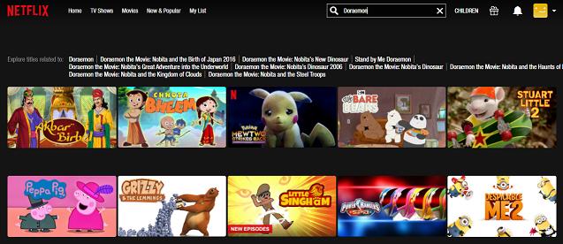 Watch Doraemon all Episodes on Netflix 1