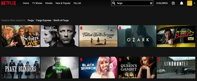 Watch Fargo all 4 Seasons on Netflix 1