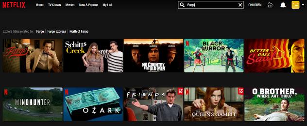 Watch Fargo all 4 Seasons on Netflix 2
