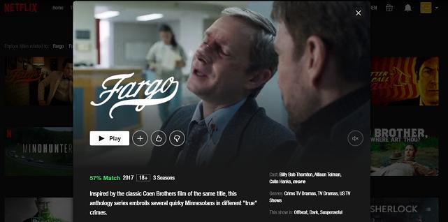 Watch Fargo all 4 Seasons on Netflix 3