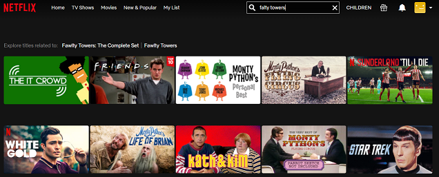 Watch Fawlty Towers on NetFlix 1