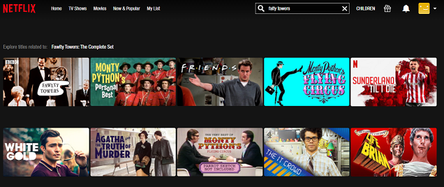 Watch Fawlty Towers on NetFlix 2