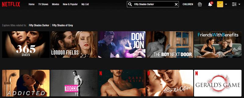 Watch Fifty Shades Darker (2017) on Netflix 1