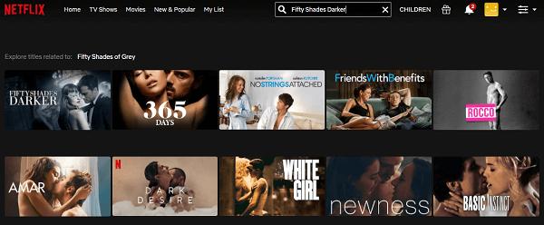 Watch Fifty Shades Darker (2017) on Netflix 2