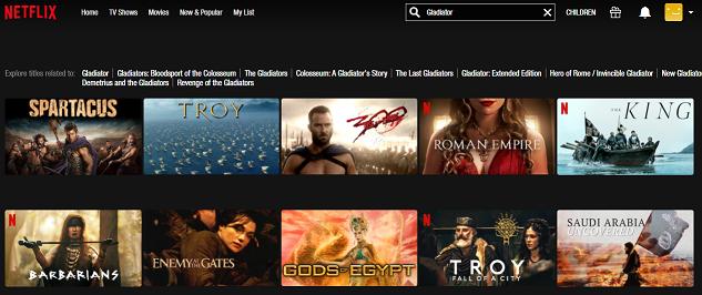 Watch Gladiator (2000) on Netflix 1