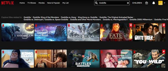 Watch Godzilla (1954) on Netflix 1
