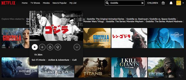 Watch Godzilla (1954) on Netflix 2