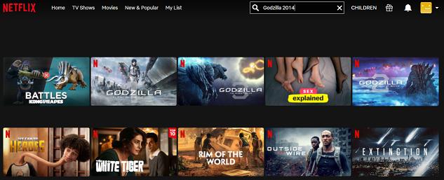 Watch Godzilla (2014) on Netflix 1