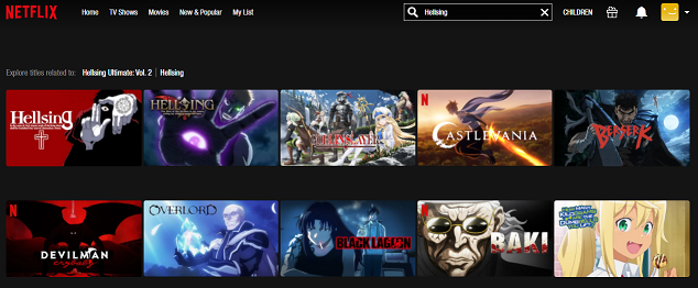 Watch Hellsing all Episodes on Netflix 2