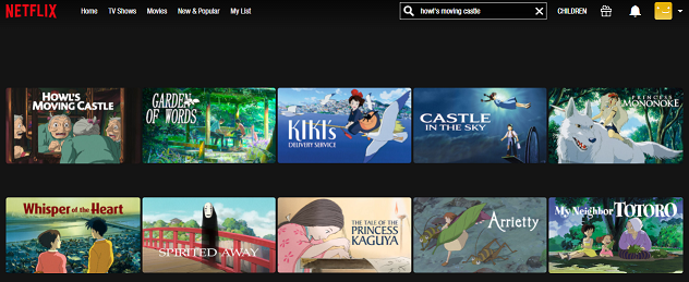 Watch Howl's Moving Castle (2004) on Netflix 1