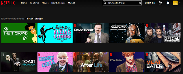 Watch I'm Alan Partridge on Netflix 1