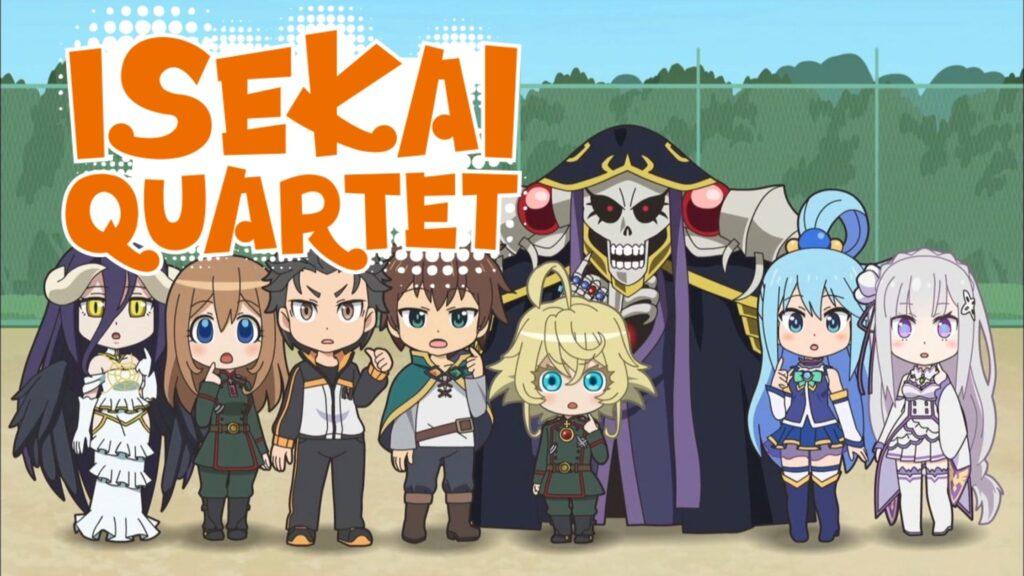 Watch Isekai Quartet on NetFlix both of the 2 Seasons
