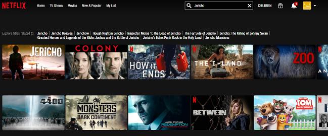 Watch Jericho on NetFlix both of the 2 Seasons 2
