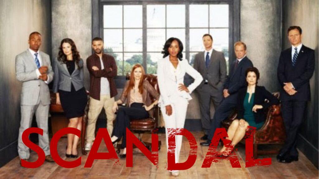 Watch Scandal all 7 Seasons on NetFlix