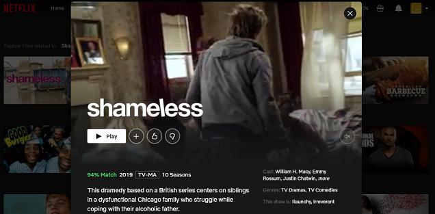 Watch Shameless (U.S.) on Netflix 3