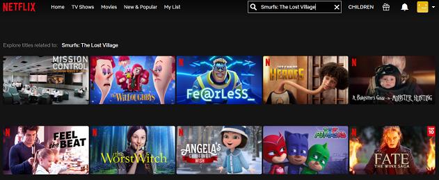 Watch Smurfs - The Lost Village on Netflix 1