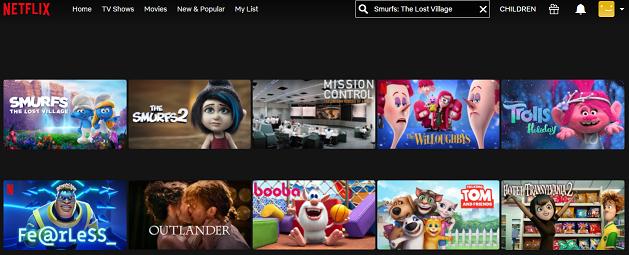 Watch Smurfs - The Lost Village on Netflix 2