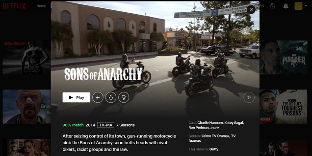 Watch Sons of Anarchy on Netflix 3