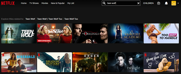 Watch Teen Wolf all 6 Seasons on Netflix 2