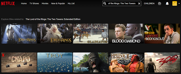 Watch The Lord of the Rings - The Fellowship of the Ring on Netflix 2