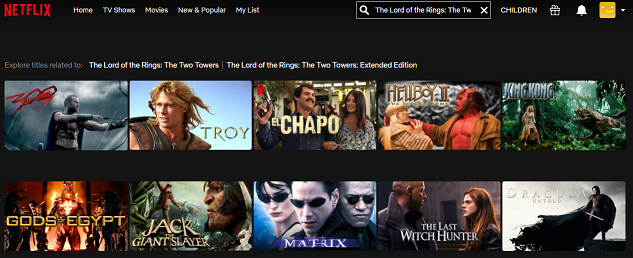 Watch The Lord of the Rings - The Two Towers on Netflix 1