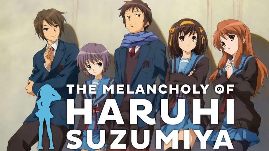 Watch The Melancholy of Haruhi Suzumiya on NetFlix