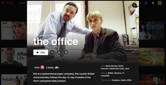 Watch The Office (U.K.) on Netflix 3