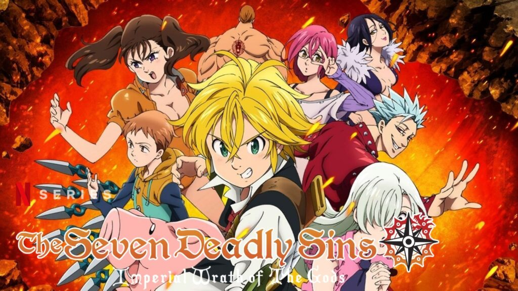 Watch The Seven Deadly Sins all 4 Seasons on NetFlix