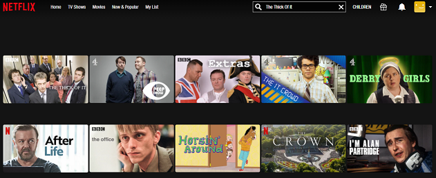 Watch The Thick Of It on Netflix 2