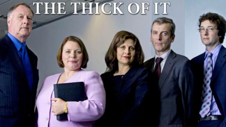 Watch The Thick Of It on Netflix