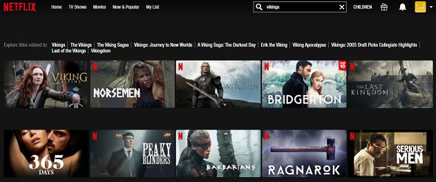 Watch Vikings all 6 Seasons on Netflix 1