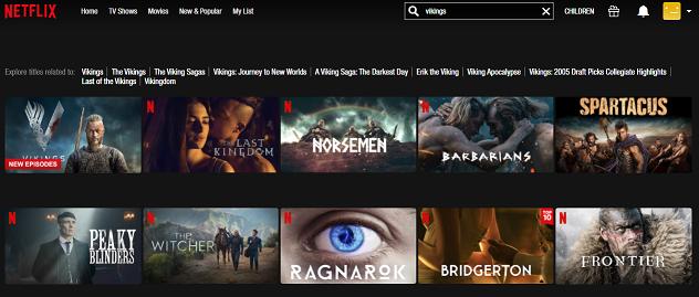 Watch Vikings all 6 Seasons on Netflix 2