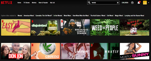 Watch Weeds all 8 Seasons on NetFlix 1
