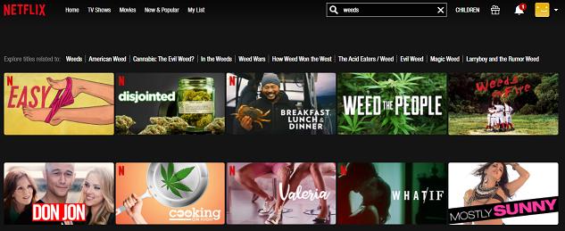 Watch Weeds all 8 Seasons on NetFlix 1