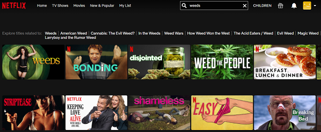 Watch Weeds all 8 Seasons on NetFlix 2