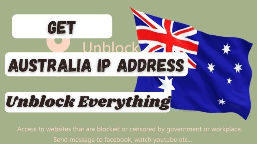 How to get an Australian IP Address & location