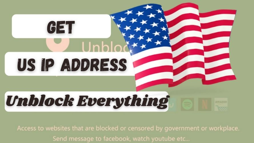 How to get an US IP Address & location