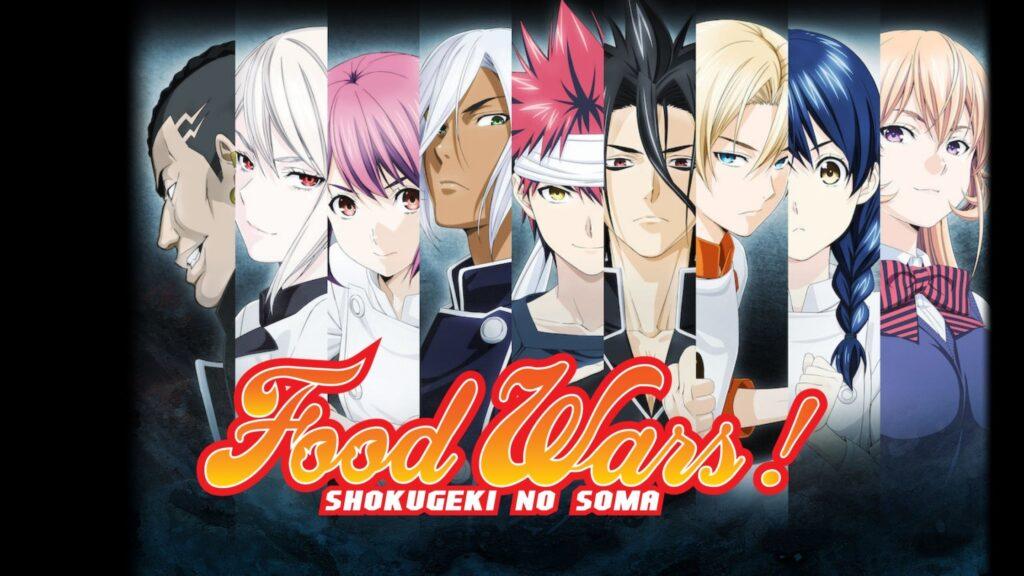 How to watch Food Wars all seasons on Netflix