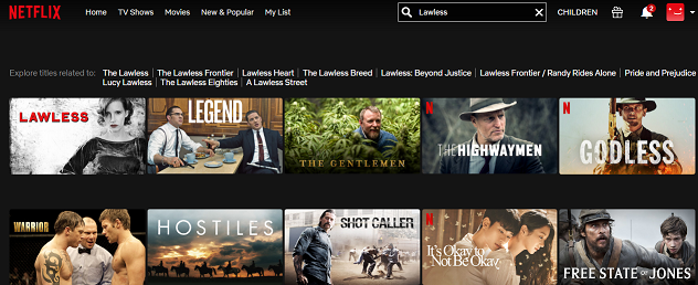 How to watch Lawless (2012) on Netflix 2