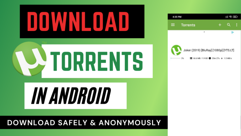 Torrent download android