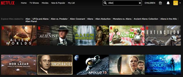 Watch Alien (1979) on Netflix 1
