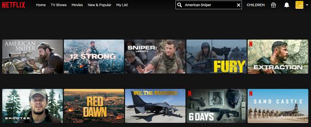 Watch American Sniper (2014) on Netflix 2