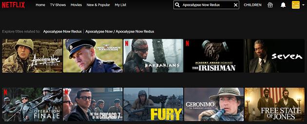 Watch Apocalypse Now Redux (2001) on Netflix 2