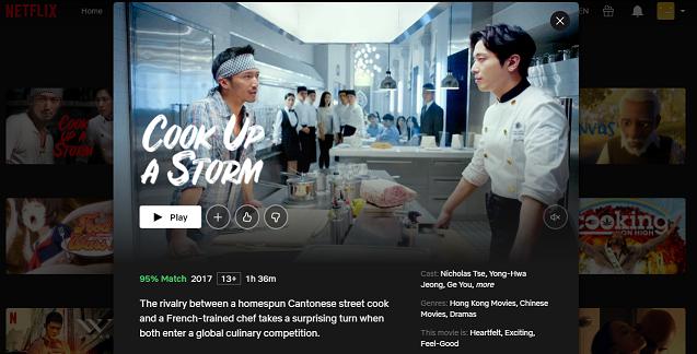 Watch Cook Up A Storm (2020) on Netflix 3